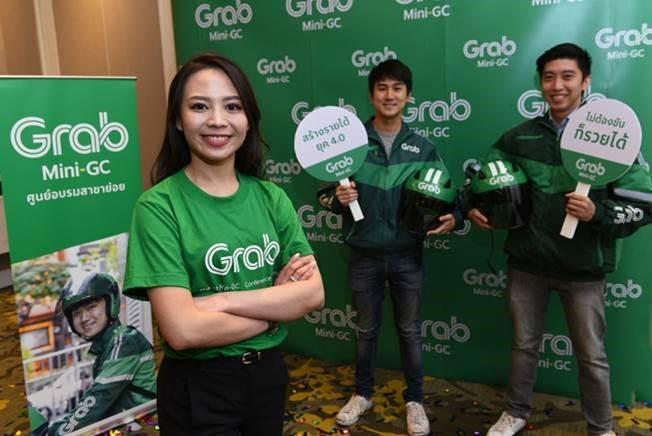 """เมธิณี อนวัชกุล ผู้อํานวยการแกร็บไบค์และศูนย์อบรมสาขาย่อย แกร็บ ประเทศไทย เปิดตัวโมเดลธุรกิจภายใต้ชื่อ """"Mini-GC"""" หรือศูนย์อบรมสาขาย่อย เพื่อส่งเสริมผู้ประกอบการรายย่อยให้เป็นเจ้าของธุรกิจ ทำหน้าที่รับสมัคร ดูแลและควบคุมมาตรฐานของพาร์ทเนอร์คนขับ จัดส่งอาหาร-พัสดุ รวมถึงพาร์ทเนอร์ร้านอาหาร พร้อมเล็งขยายฐานการให้บริการทั้งด้านการเดินทางและการจัดส่งอาหาร-พัสดุในต่างจังหวัดให้ครบ 30 จังหวัดทั่วประเทศภายในปี 2563"""