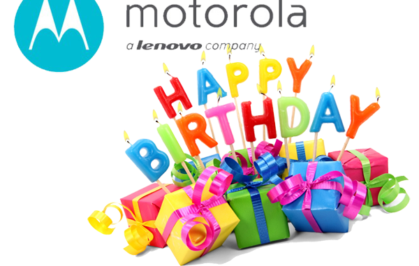 happy birthday motorola