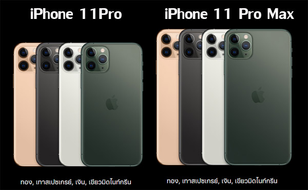 iPhone 11 Pro และiPhone 11 Pro Max