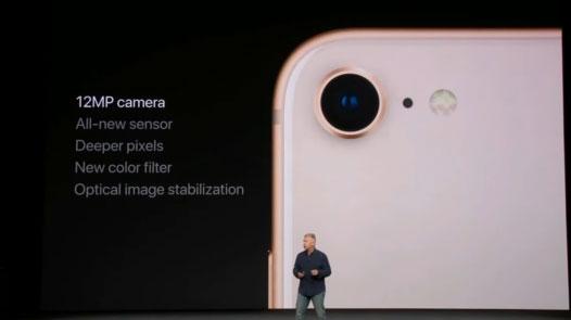 กล้อง iPhone 8