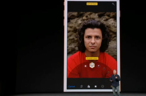iPhone 8 กล้อง