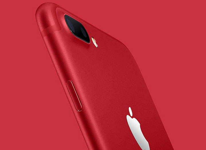 iPhone 7 สีแดง