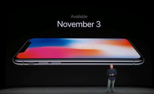 iPhone X วางจำหน่าย