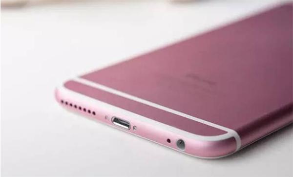 iPhone สีชมพู