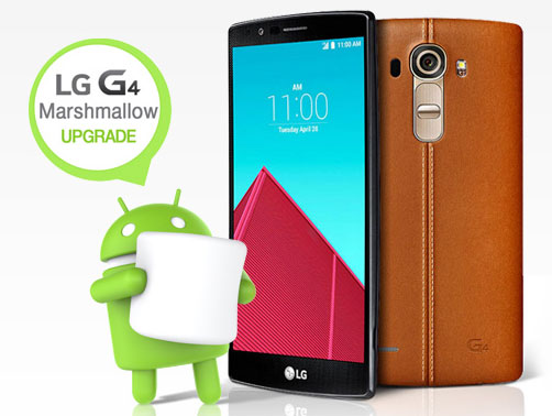 Android 6.0 Marshmallow LG G4