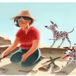 แมรี ลีกกี้ (Mary Leakey) ครบรอบวันเกิด 100 ปี