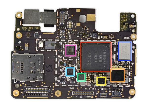 motherboard Pixel XL