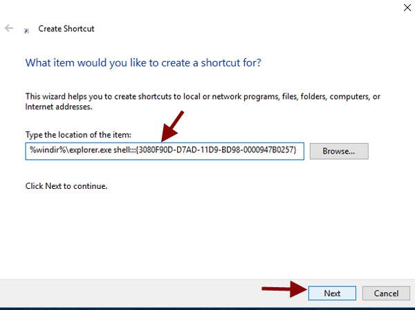 new-shortcut