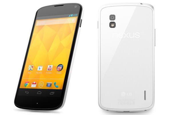 Nexus 4  สีขาว