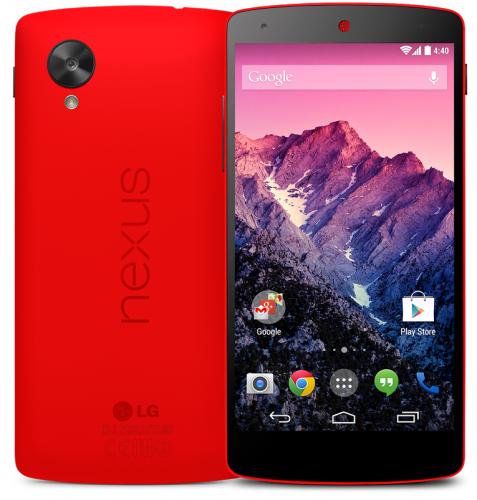 Nexus 5 สีแดง