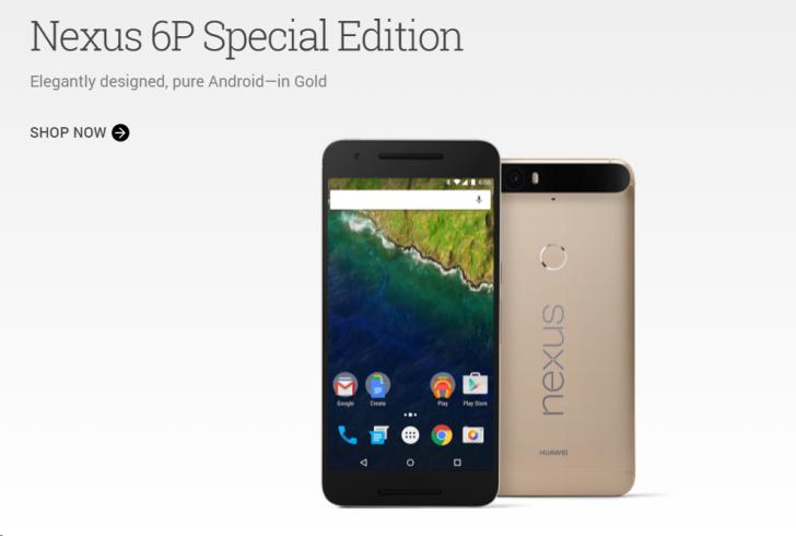 Nexus 6P สีทอง