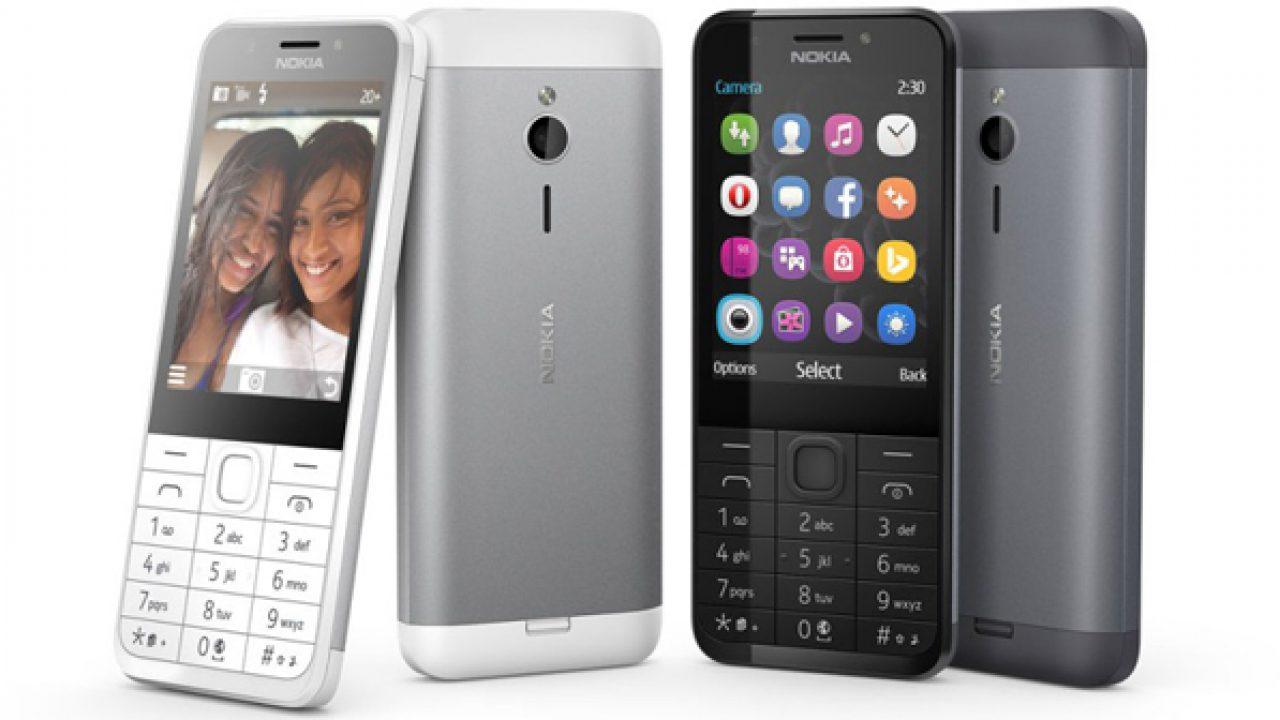Nokia 230 ฟีเจอร์โฟน กล้อง 2 ล้านพร้อมแฟลช   MODIFY: Technology News