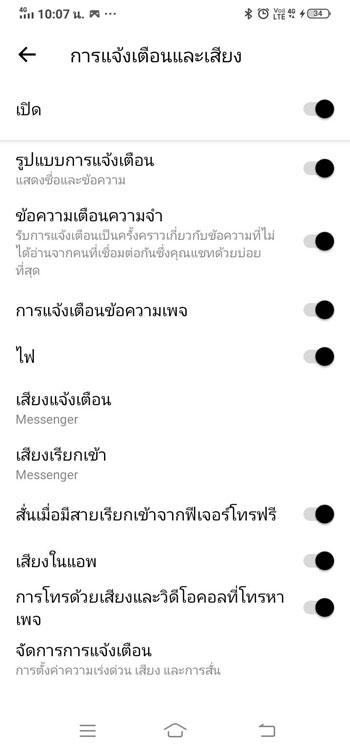 notifications Messenger