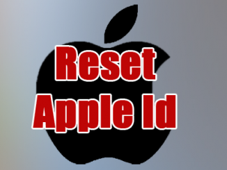 reset Apple ID