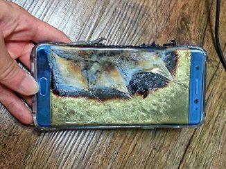 Samsung Galaxy Note 7 ระเบิด