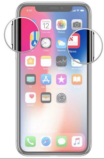 screenshot iPhone-X