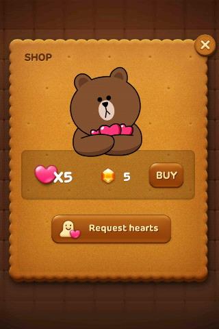 การซื้อหัวใจ line pop