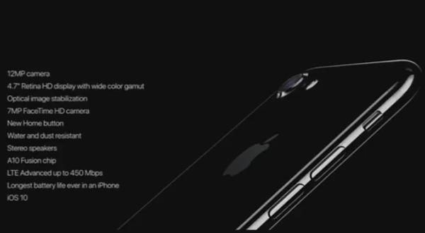 สเปค iPhone 7