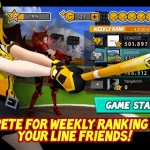 LINE Homerun Battle Burst แอพเกมกีฬาแนว เบสบอล