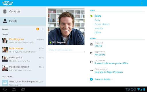 สไกป์ ดาวน์โหลด Skype Download
