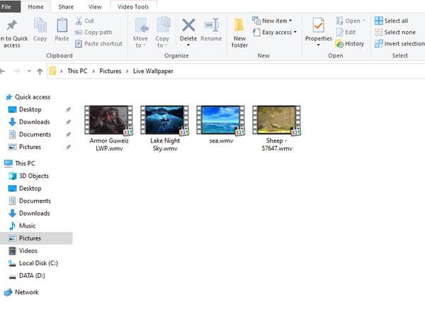 wmv folder