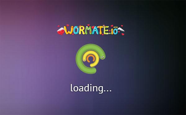 wormate.io loading